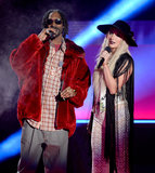 Snoop Dogg and Ke$ha made quite the pair on stage.