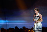 Emma Watson was thankful when she won the 2013 Trailblazer Award.