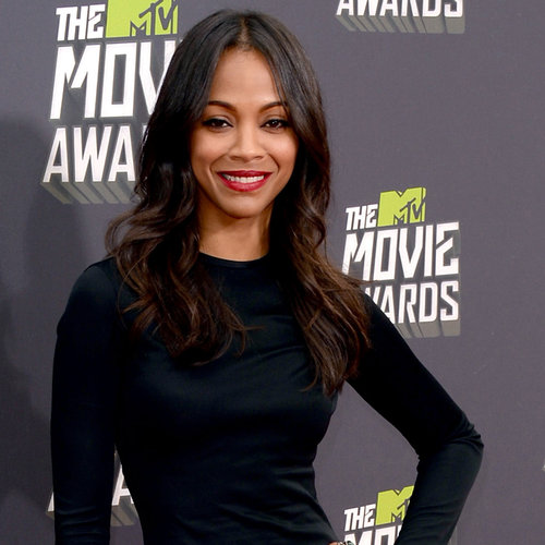 Zoe Saldana at the MTV Movie Awards 2013
