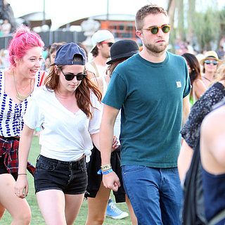 Robert Pattinson and Kristen Stewart at Coachella 2013 Day 2