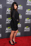 Kim Kardashian at the MTV Movie Awards.