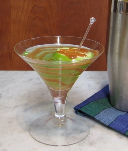 Hot Ginger Caramel Martini
