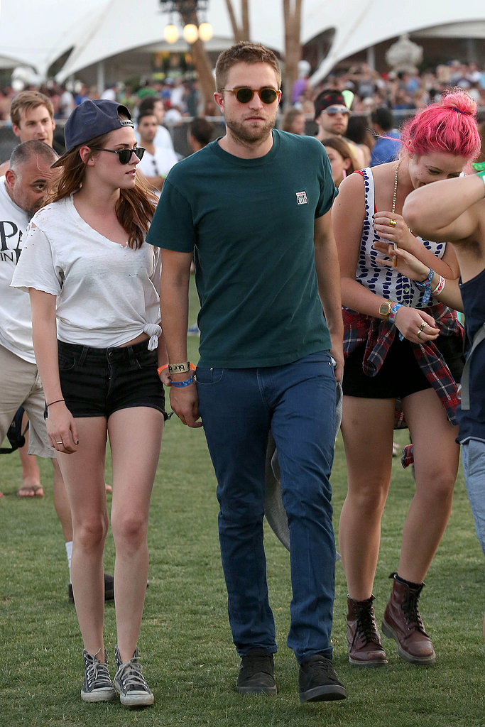 Kristen Stewart and Robert Pattinson went low key.