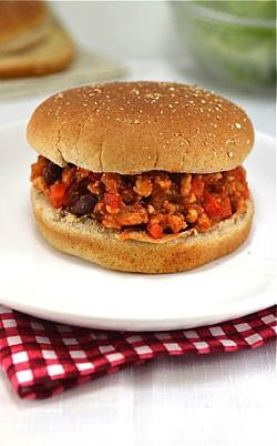 Skinny Turkey Sloppy Joes