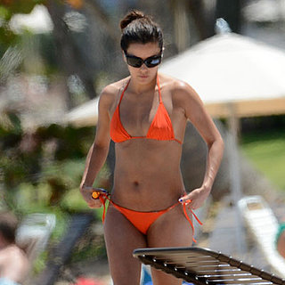 Eva Longoria in an Orange Bikini | Pictures