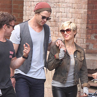 Chris Hemsworth and Elsa Pataky Walking in NYC | Pictures