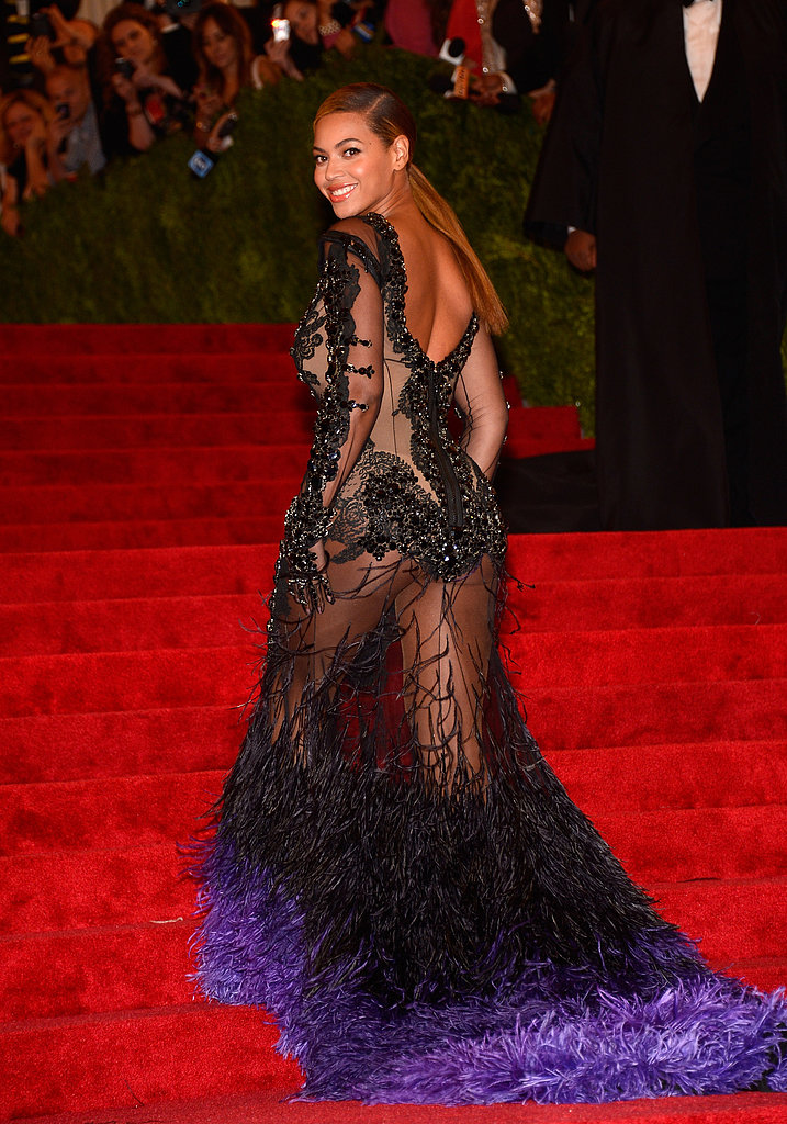 Sheer perfection — that's one way we'd describe Beyoncé's 2012 Met Gala appearance.