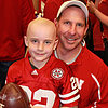 Cancer Patient Scores Touchdown at Football Game