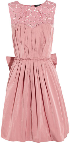 Nina Ricci Taffeta and lace dress
