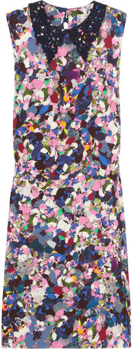 Erdem Loreali floral-print silk dress