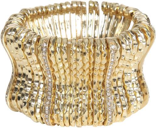 Metal Bar Stretch Bracelet