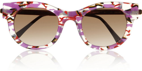 Thierry Lasry Barely D-frame acetate and metal sunglasses