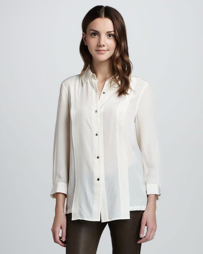 MARC by Marc Jacobs Mariko Loose Silk Blouse