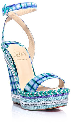 Christian Louboutin Duplice 140mm wedge sandals
