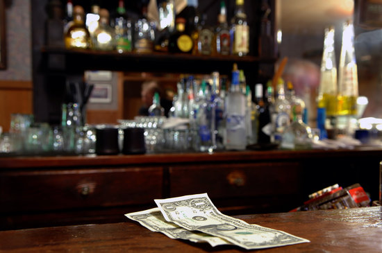 Where do you stand on a cash bar?