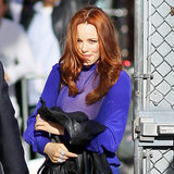 Rachel McAdams Visiting Jimmy Kimmel Live in LA | Pictures
