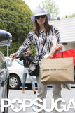 Jennifer Garner made a purchase at James Perse.