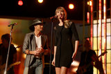 "Taylor Swift performed ""Highway Don't Care"" with Tim McGraw."