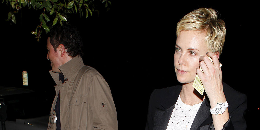 Charlize Theron and Seth MacFarlane Step Out For Sushi