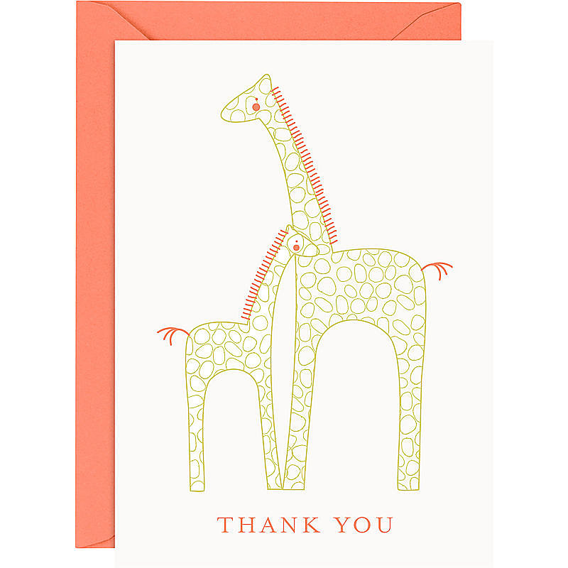 Paper Source Baby Giraffe Notes