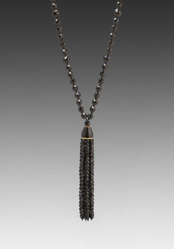 Kenneth Jay Lane Tassel Necklace