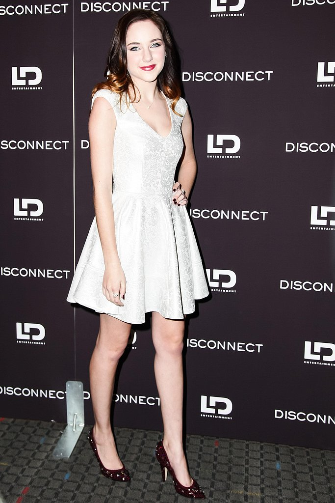 Haley Ramm at the Disconnect screening in New York. Photo: Matteo Prandoni/BFAnyc.com