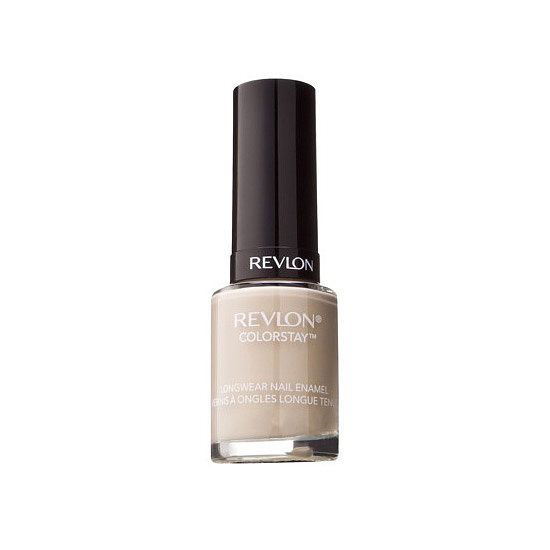Revlon ColorStay Longwear Nail Enamel in Bare Bones ($7) is an opaque wash of taupe.