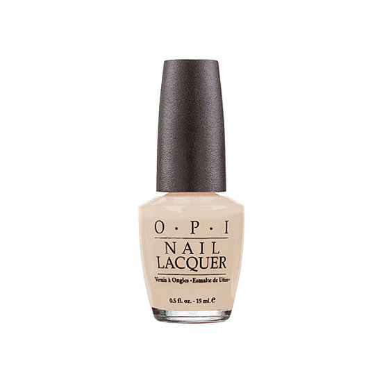 OPI Samoan Sand ($9) is a Fashion Week favorite because of its universally flattering hue.