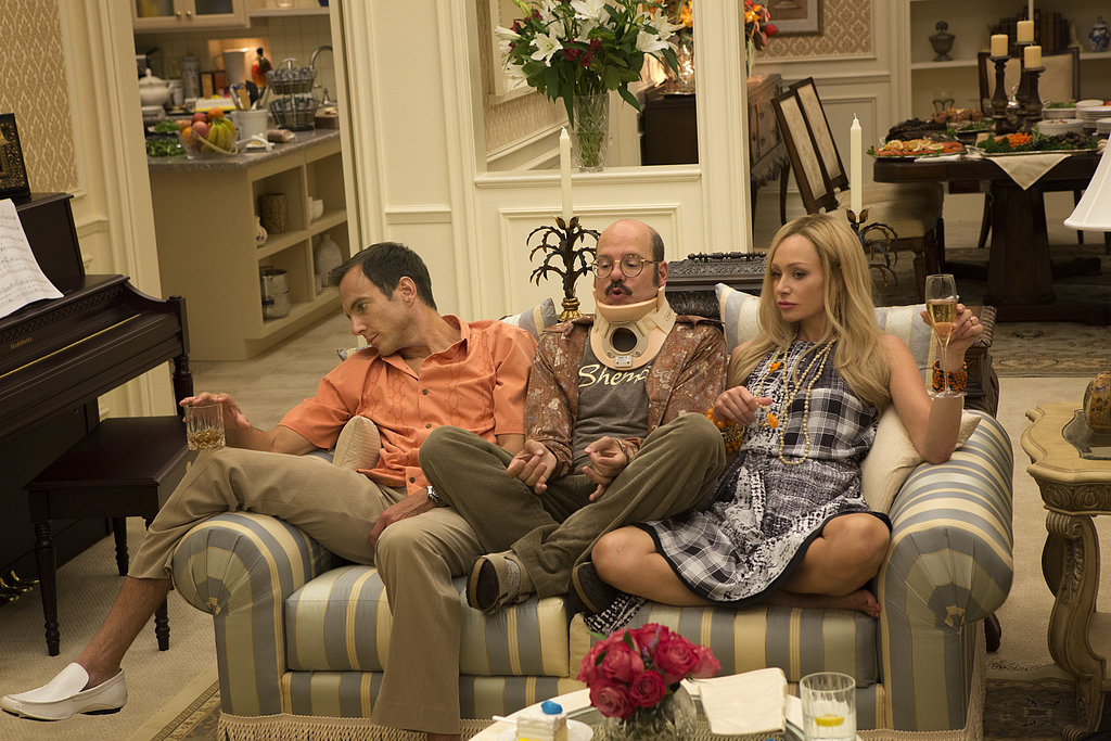 Will Arnett, David Cross, and Portia de Rossi on new episodes of Arrested Development. Photos courtesy of Netflix