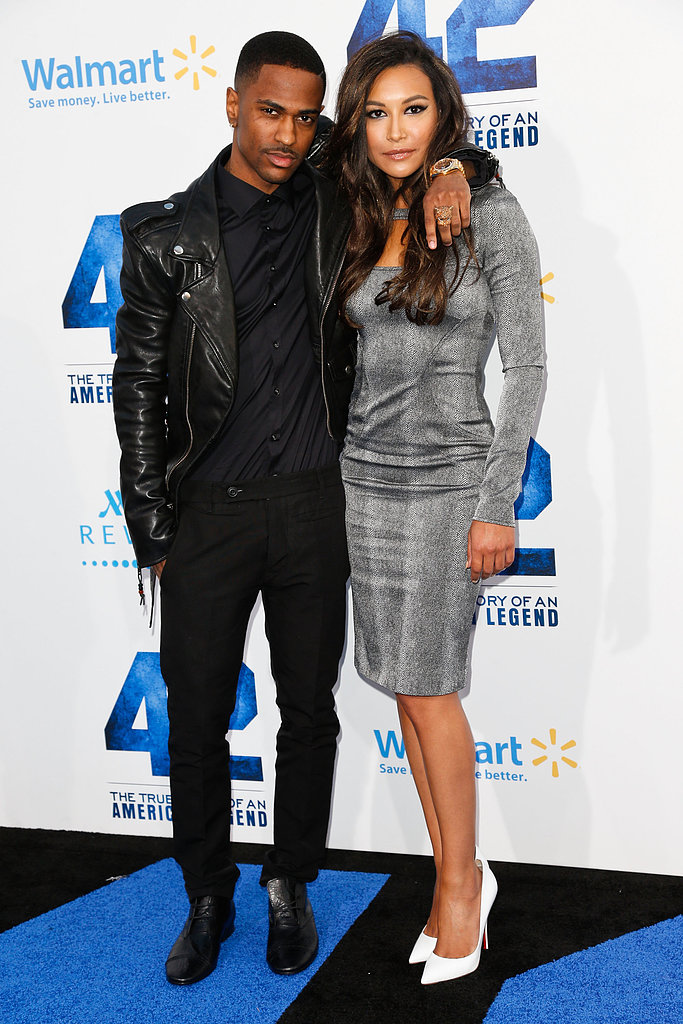 Naya Rivera was joined by boyfriend Big Sean for the premiere of 42.