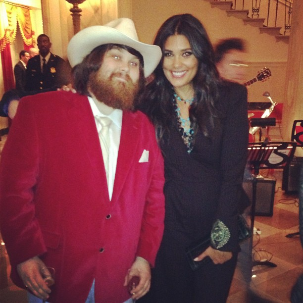 Rachel Roy shared a photo with Alabama Shakes' Zac Crockwell during a Memphis Soul music event at the White House. Source: Instagram user rachel_roy