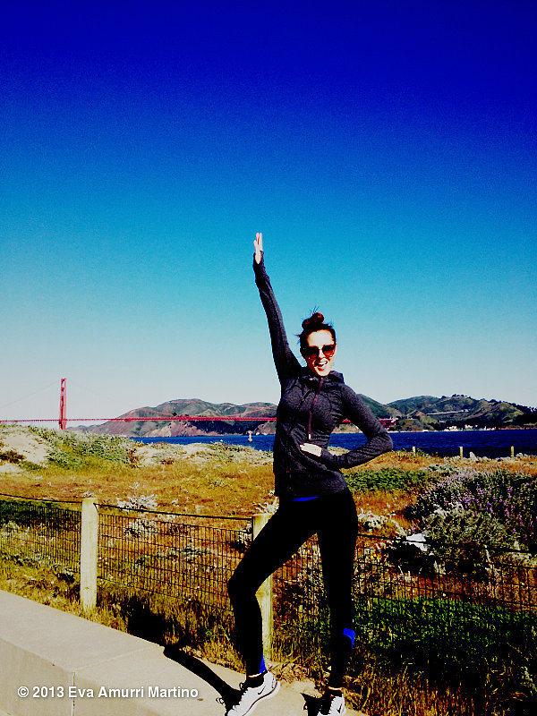 Eva Amurri Martino enjoyed the San Francisco scenery during a trip to the Bay Area. Source: Twitter user 4EvaMartino