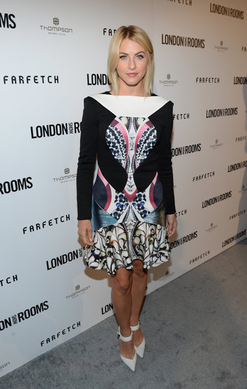 Julianne Hough stepped out for the London Show Rooms event in LA.