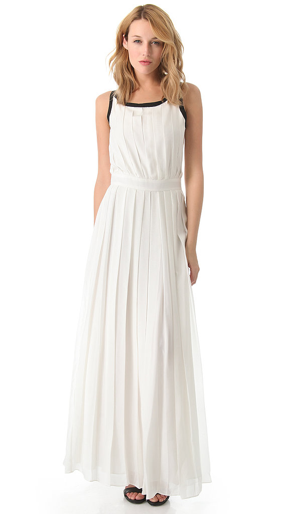 Between crisp skirt pleating and a sleek black contrast at the neckline, this Rachel Zoe Braden Pleated Gown ($625) was made for the minimalist.