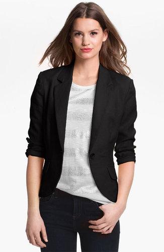 Olivia Moon Linen Jacket