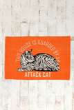 Attack Cat Rug ($19)