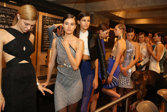 2013 MBFWA: Behind-The-Scenes at Dion Lee's Private Presentation