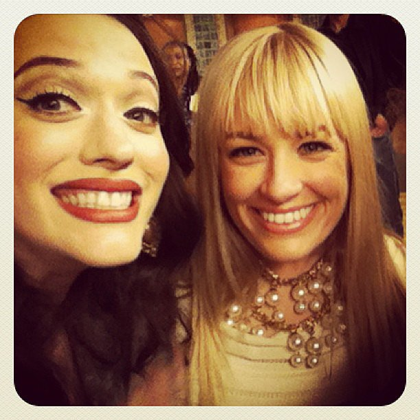 Kat Dennings and Beth Behrs wrapped season two of 2 Broke Girls. Source: Instagram user lizinhollywood