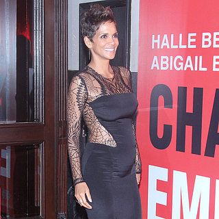 Halle Berry Baby Bump on Red Carpet in Brazil | Pictures