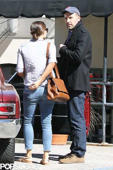 Ben and Jen Pack On the PDA While Running Errands With Violet