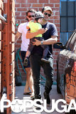 Miranda Kerr and Orlando Bloom Spend Time With Flynn Amid Angel Rumors