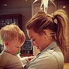 Celebrity Moms' Instagram Pictures Week of April 7, 2013