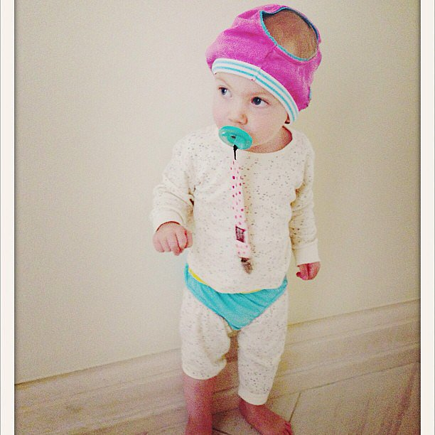Hattie McDermott showed off her stylish ways when she dressed herself. Source: Instagram user torianddean