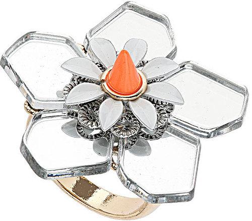 Plastic Flower Ring