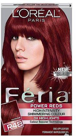 L'Oreal Feria Power Reds Haircolor