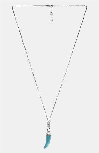 Michael Kors 'Status Link' Long Pendant Necklace
