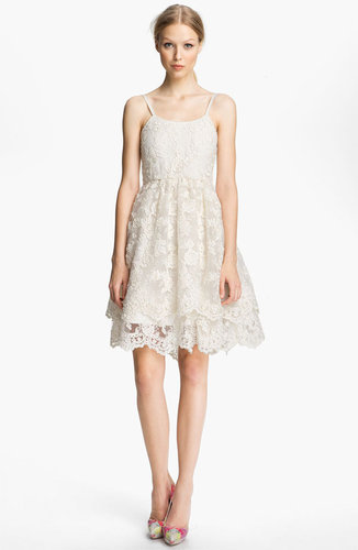 Alice + Olivia Lace Tank Dress