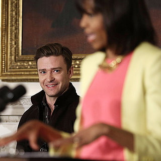 Justin Timberlake at the White House 2013