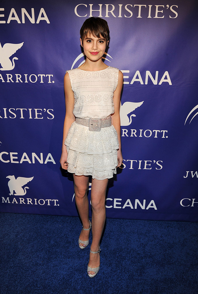 Sami Gayle at the Inaugural Oceana Ball at Christie's in New York.