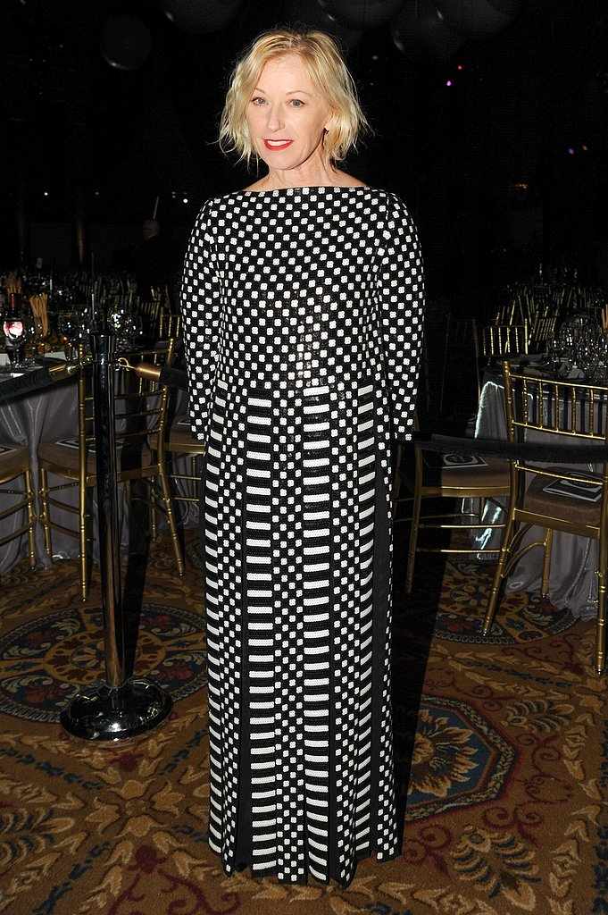 Cindy Sherman wore Marc Jacobs at the New Museum Spring Gala in New York. Photo: Neil Rasmus/BFAnyc.com